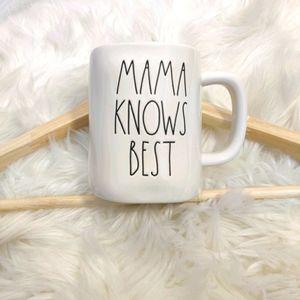 Rae Dunn Mug  Mama Knows Best